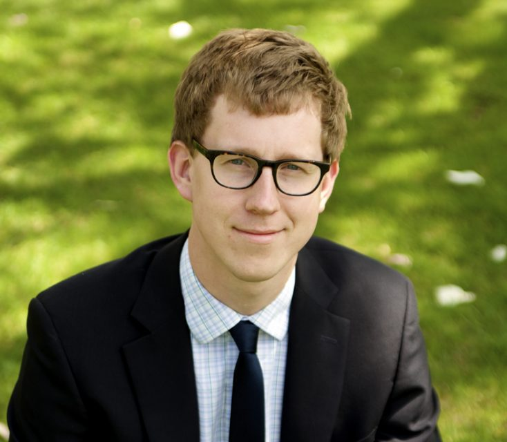 Aaron Griffith is a doctoral student in American Christianity at Duke Divinity School. Photo courtesy of Aaron Griffith