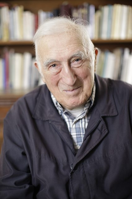 Jean Vanier, photo courtesy of Templeton Prize, John Morrison.