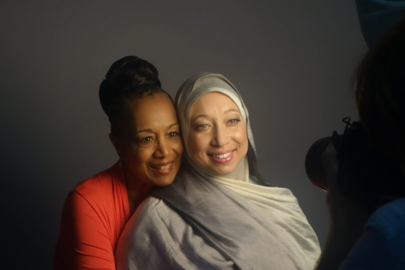 When Patricia Raybon's daughter converted to Islam, it almost ruined their relationship. But their struggle has become a model for sharing life with those of other faiths. - Image courtesy of Patricia and Alana Raybon