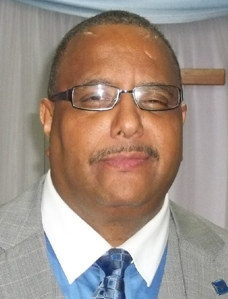 Pastor Harry Flemmings of New Jerusalem Baptist Church. Photo courtesy of Harry Flemmings