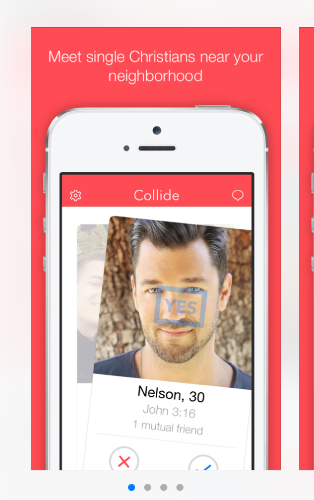 Screenshot of the app's interface