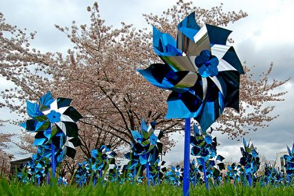 Pinwheels - courtesy of Edmund Garman via Flickr