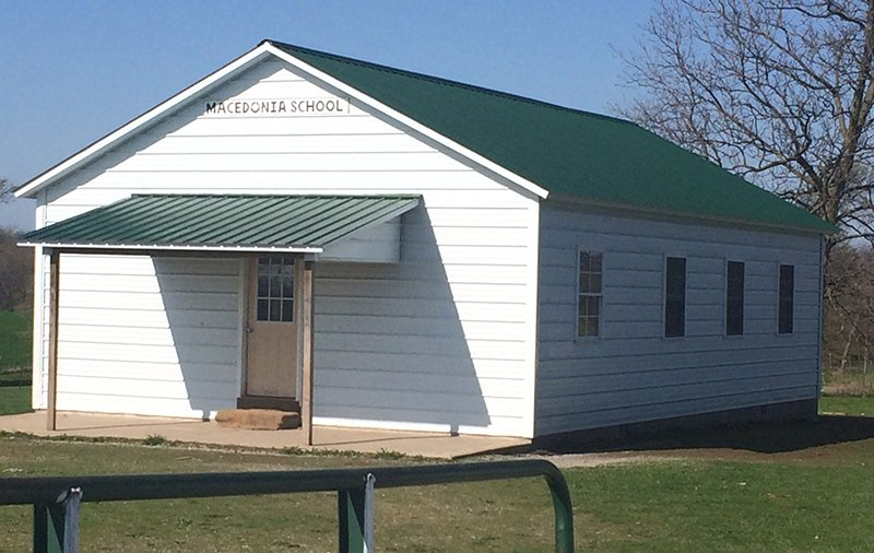 Macedonia School is a one room schoolhouse for Amish students in Clark, Mo. Students attend this school until 8th grade. Religion News Service photo by Heather Adams