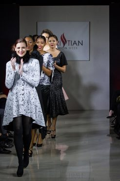 The Noka Posh collection is shown during 2015 Christian Fashion Week. Photo courtesy of Fotocafe Photography