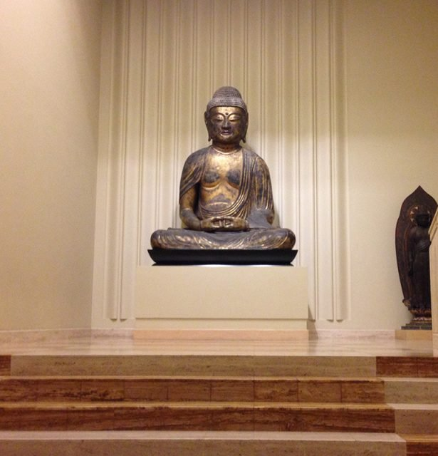A Buddhist statue on display at the Nelson-Atkins Museum of Art in Kansas City, Mo. Religion News Service photo by Sally Morrow