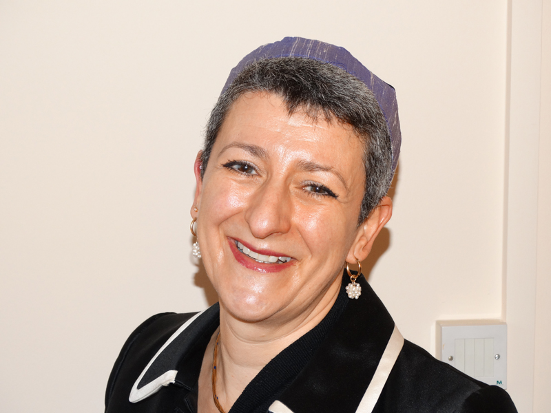 Rabbi Laura Janner-Klausner, senior rabbi of England's Movement for Reform Judaism is launching a matchmaking service that will cater to same- sex Jews as well as opposite sex couples. Photo courtesy of The Movement for Reform Judaism.