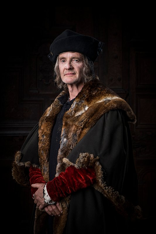 Anton Lesser as Thomas More in Wolf Hall. Photo courtesy Ed Miller/Playground & Company Pictures for Masterpiece/BBC