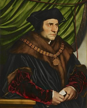 Sir Thomas More by Hans Holbein the Younger, circa 1527. For use with RNS-WOLF-SPLAINER, transmitted April 9, 2015. RNS photo via Wikimedia Commons.