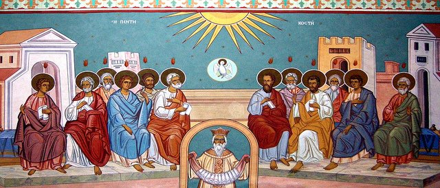 The Day of Pentecost.