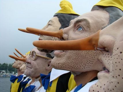 Pinoccchio Noses - courtesy of Craig Owen via Flickr