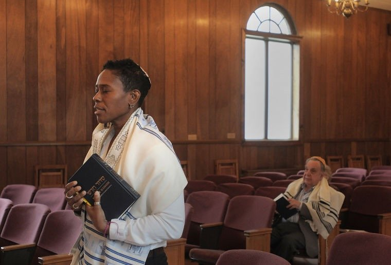 She's black, gay and soon you can call her 'rabbi' - Religion News Service