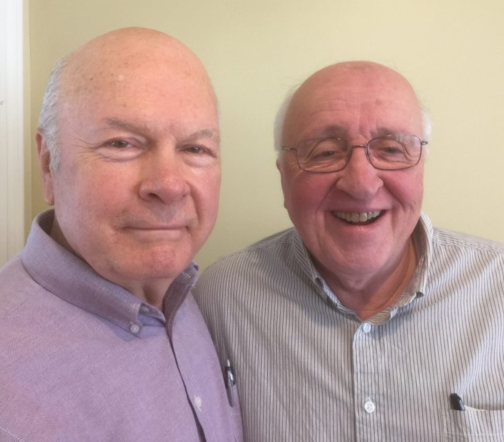 Robert Millet (L) and Richard Mouw (R)