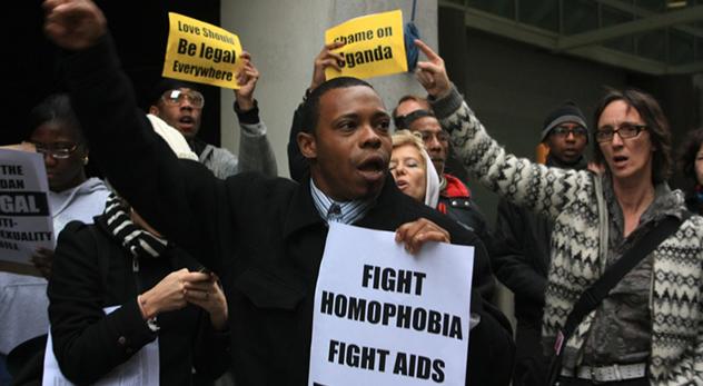 "(""Uganda Action"" protest - Image courtesy: Kaytee Riek - http://bit.ly/1F9YK4N)"