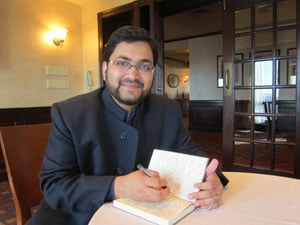 Sohaib Nazeer Sultan is co-president of the Association of College Muslim Chaplains and Princeton University's first Muslim Life Coordinator and Chaplain. Photo courtesy of Sohaib Sultan