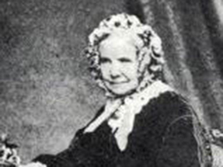 British invalid Charlotte Elliott (1789-1871), who wrote Billy Graham's favored hymn