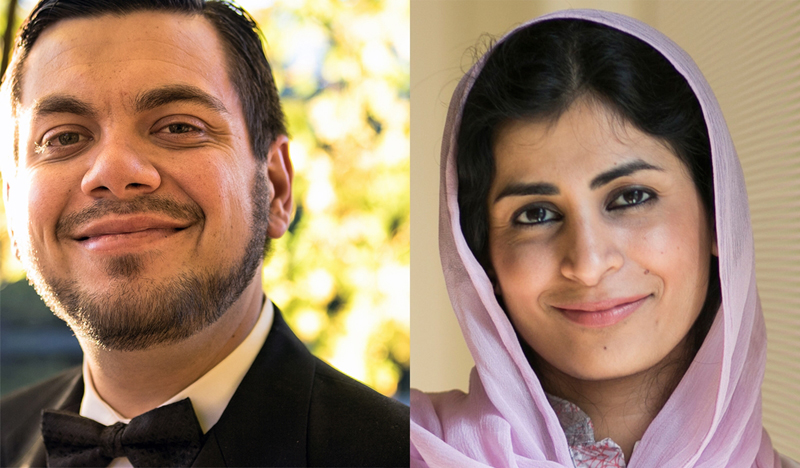 Beau Latif Scurich and his wife Naila Baloch. Photo courtesy of Beau Scurich and Naila Baloch