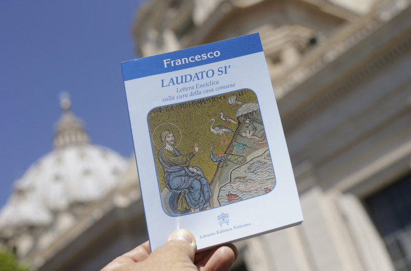 Pope Francis' new encyclical titled
