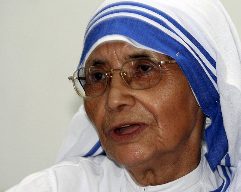 Sister Nirmala speaks during an interview with Reuters in Kolkata, India, in this September 1, 2007 file photo. Photo courtesy of REUTERS/Jayanta Shaw/Files