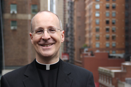 Rev. James Martin, a Jesuit priest, editor at large of America magazine and the author of many books. Photo courtesy of DeChant-Hughes & Assoc Inc Public Relations.