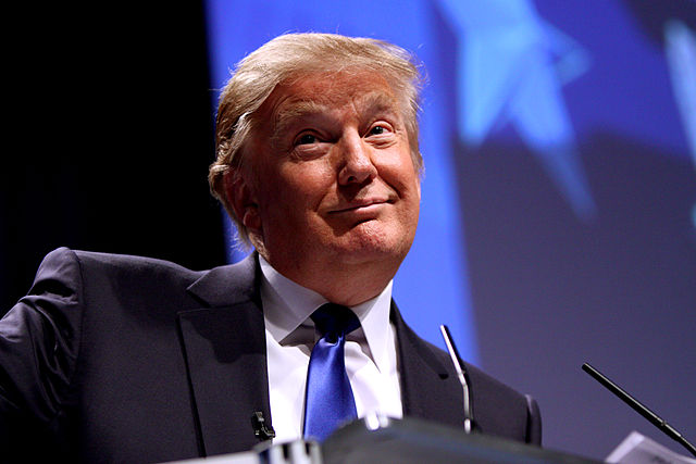 Donald Trump speaking at CPAC in Washington, D.C., on Feb. 10, 2011.