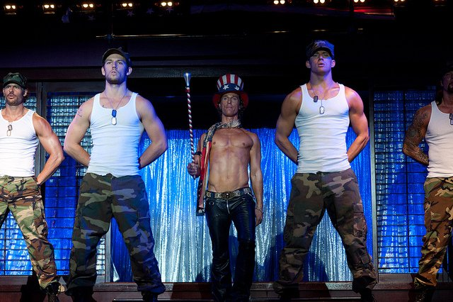 "A still from the original ""Magic Mike"" 