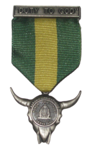 The Duty to God Award presented to LDS Boy Scouts prior to 2002.