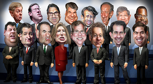 Southern Baptists are platforming Jeb Bush and Marco Rubio at their forthcoming mission conference, but in April they disinvited Ben Carson from their pastors' conference. What gives? - Image courtesy of DonkeyHotey (http://bit.ly/1SGg56k)