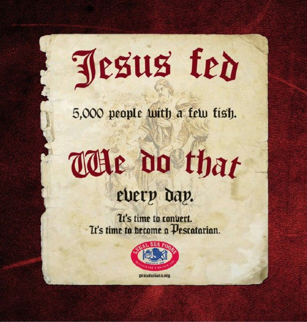 A new ad campaign for Legal Seafood urges people to convert to