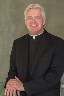 In May 2015, the Rev. Warren Hall was abruptly dismissed from his position as the popular campus chaplain at Seton Hall University in New Jersey because the Catholic archbishop of Newark said his advocacy against anti-gay bullying, and his identity as a gay man, undermined church teaching. Photo courtesy of Warren Hall