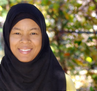 Donna Auston is a doctoral candidate in the Department of Anthropology at Rutgers University. She researches race and religious practice in Muslim communities in the U.S. Photo courtesy of Donna Auston