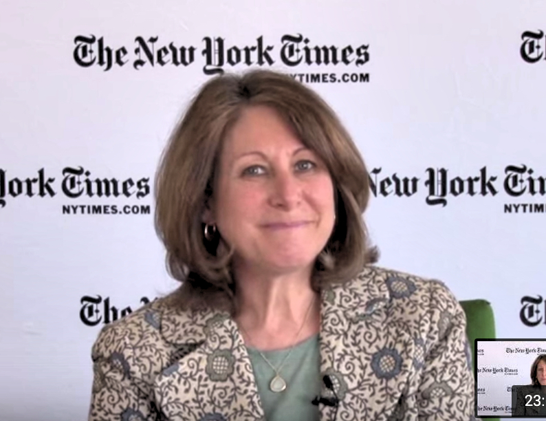 New York Times National Religion Correspondent Laurie Goodstein.