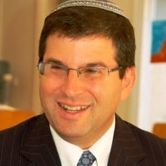 Rabbi Seth Farber, founding director of ITIM, an organization that helps people navigate of religious court system in Israel, helped spearhead a new Orthodox conversion court system that is more welcoming to converts than the rabbinate-run courts. Photo courtesy of ITIM
