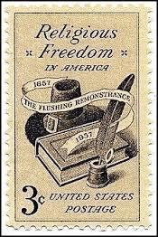 Religious Freedom stamp