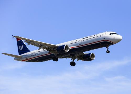 US Airways plane.