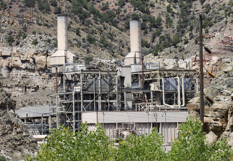 The coal-fired Castle Gate Power Plant sits idle and is no longer producing electricity outside Helper, Utah on August 3, 2015. The plant was closed in the Spring of 2015 in anticipation of new EPA regulations. President Barack Obama unveiled on Monday the final version of his Clean Power Plan to tackle greenhouse gases from coal-fired power plants. Photo courtesy of REUTERS/George Frey *Editors: This photo may only be republished with RNS-CLIMATE-CANDIDATES, originally transmitted on August 4, 2015.