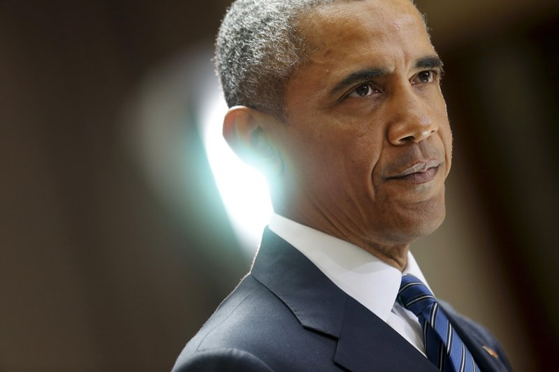 U.S. President Barack Obama delivers remarks on a nuclear deal with Iran at American University in Washington on August 5, 2015. Photo courtesy of REUTERS/Jonathan Ernst  *Editors: This photo may only be republished with RNS-IRAN-JEWS, originally transmitted on August 13, 2015.