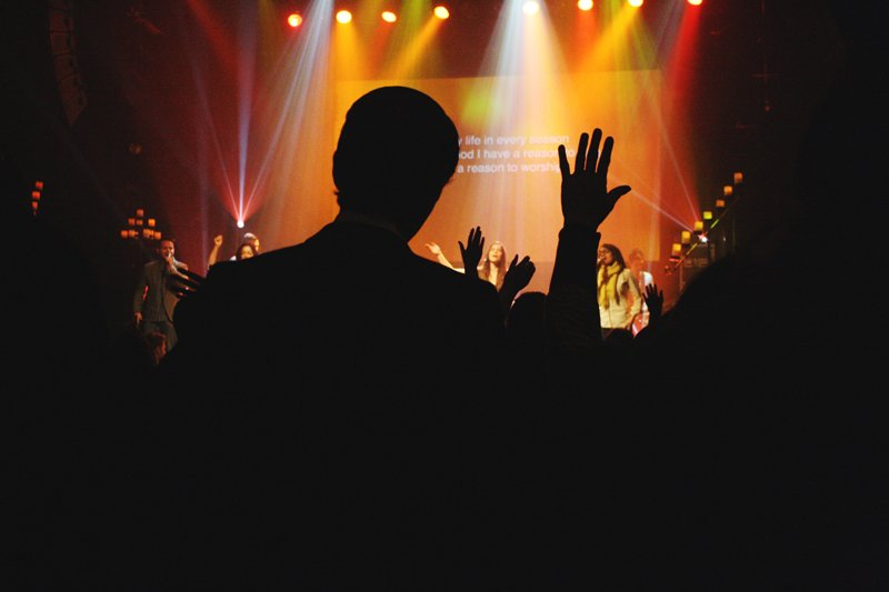 Hillsong Church's campus in New York City draws more than 7,000 weekly worshippers. Photo courtesy of Jessicalsmyers via Flickr (http://bit.ly/1gwwwpL) *Editors: Image is available to RNS subscribers, but not for resale.