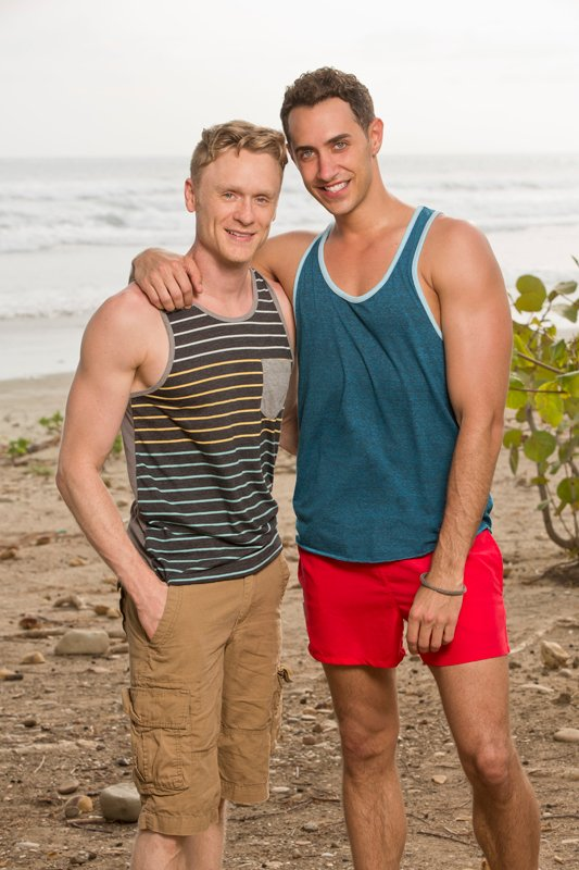 Dating couple Josh Canfield and Reed Kelly, will be among the castaways competing on SURVIVOR this season, on the CBS Television Network. Photo courtesy of Monty Brinton/CBS ©2014 CBS Broadcasting, Inc.