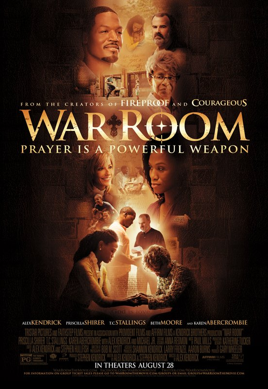 "The official movie poster for ""War Room."" Photo courtesy of War Room"