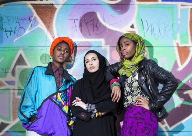 """Members of the cancelled  National Youth Theatre show """"Homegrown."""" Courtesy of National Youth Theatre's website"""