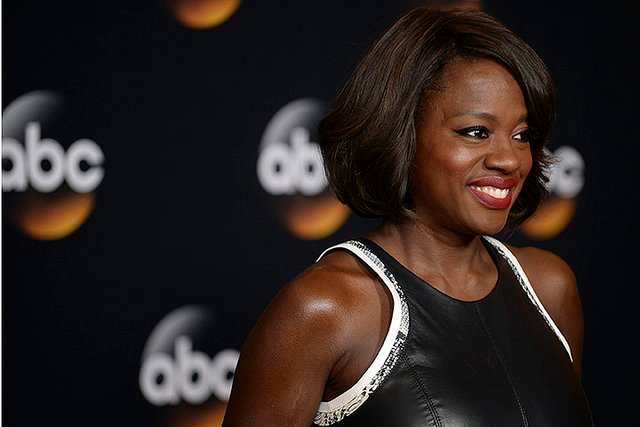 """Viola Davis promoting """"How to Get Away with Murder"""" 