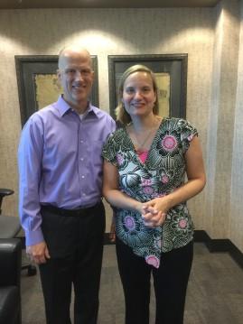 Chris Williams with Jana Riess