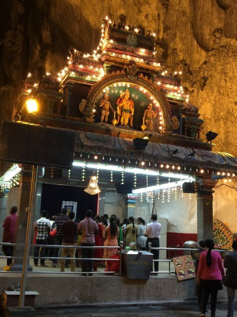 Main temple inside first chamber