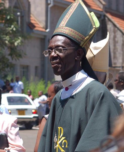 Archbishop Eliud Wabukala, the primate of Kenya who is the chairman of GAFCON. Religion News Service by Fredrick Nzwili