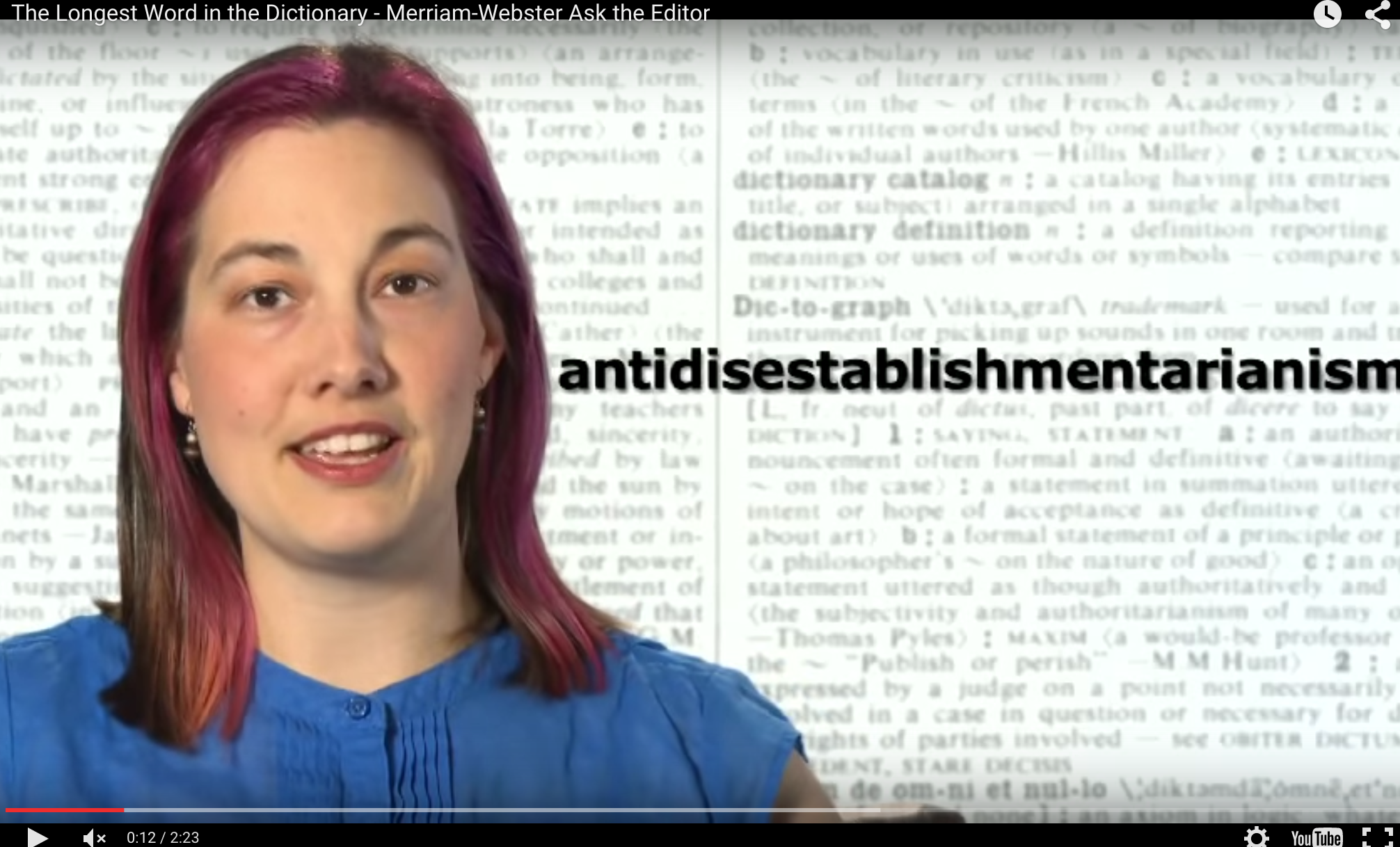Antidisestablishmentarianism Isnt In The Dictionary Lets Change