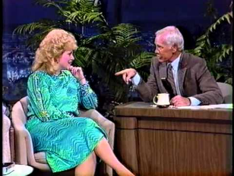 Sandi Patty during an appearance on the Johnny Carson Show. Photo courtesy of Mike Atkins Entertainment