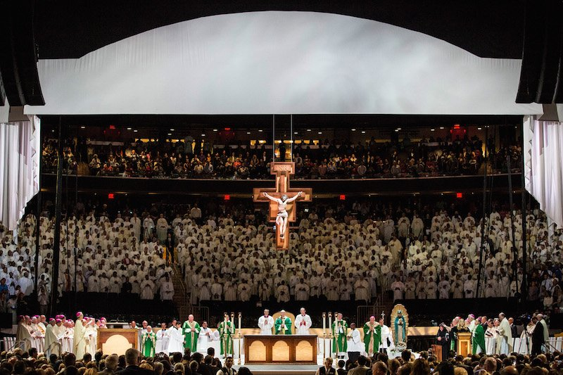 Pope Francis Plays Madison Square Garden Before Bidding Ny Farewell