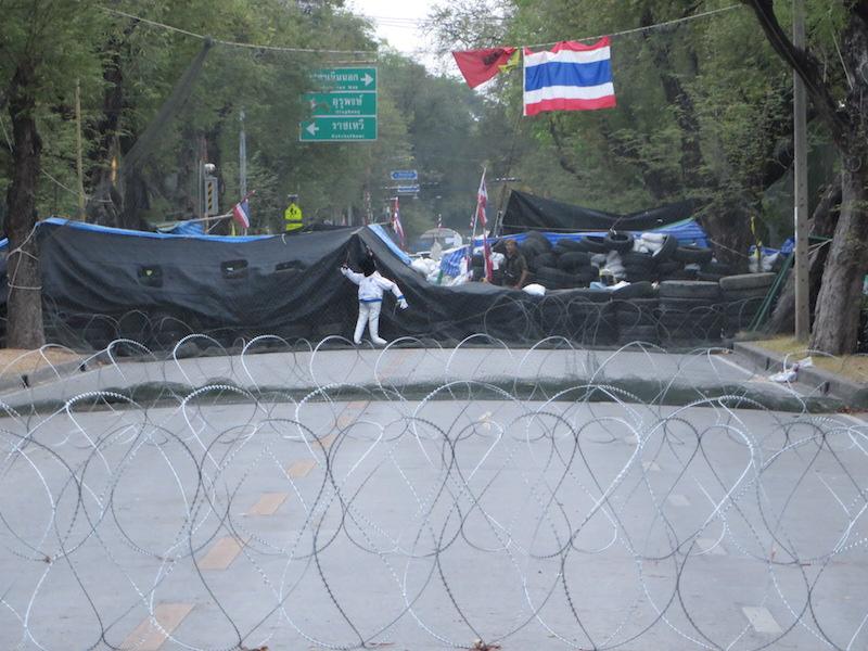 Opposition barricade Bangkok
