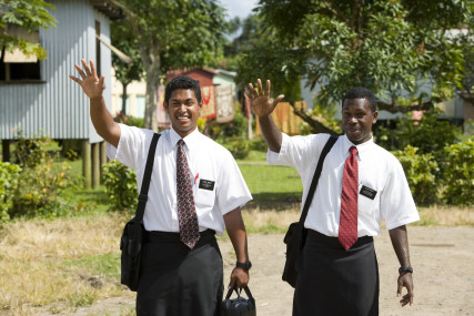 Fijian LDS missionaries. © 2015 Intellectual Reserve, Inc. All rights reserved.