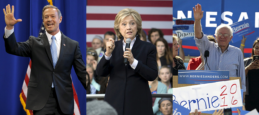 the ideology and policies of hilary clinton and bernie sanders in the democratic debate in milwaukee The political positions of bernie sanders are evident  sanders took issue with hillary clinton's  during a democratic debate, sanders was asked .